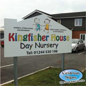 Day nursery school signs