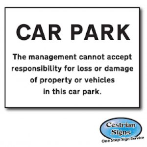 Car-Park-Disclaimer-Sign