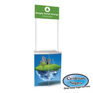 Promo stand counter small
