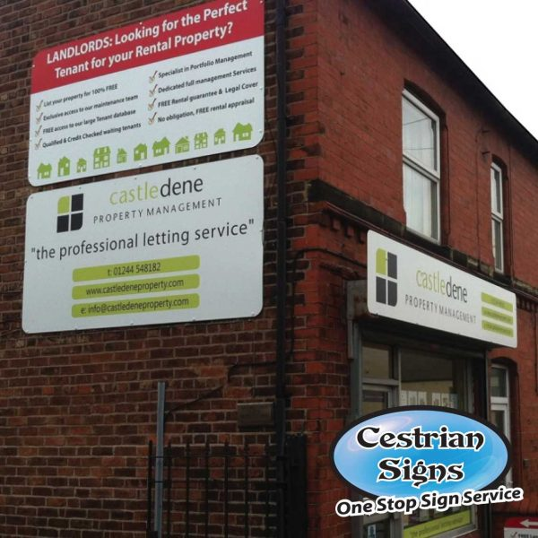 Estate Agent Shop Fascia Signs