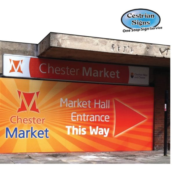 Large Outdoor Rigid Sign