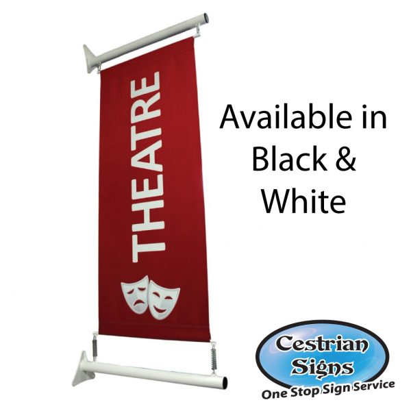 Projecting Wall Mounted Banner System 600 Mm