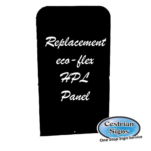 Ecoflex Panel HPL Chalk Board, replacement panel