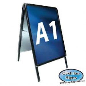 A-Master A Board Sign Black A1