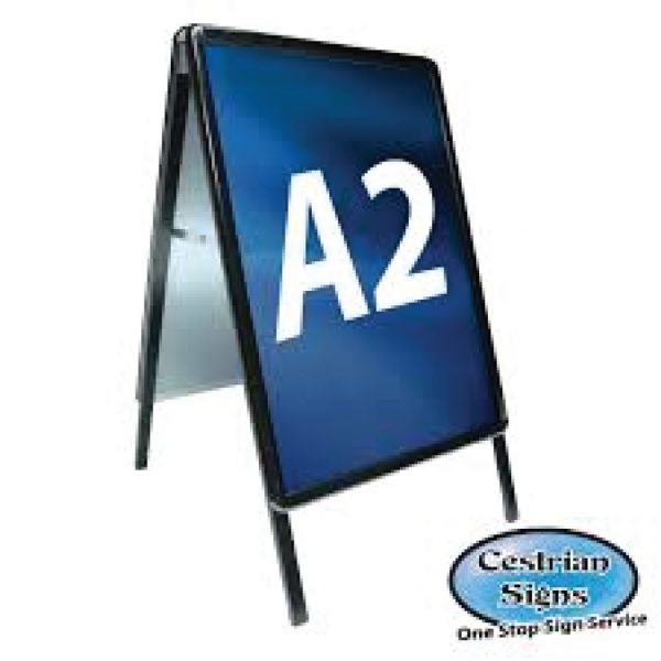 A Master A Board Sign Black A2