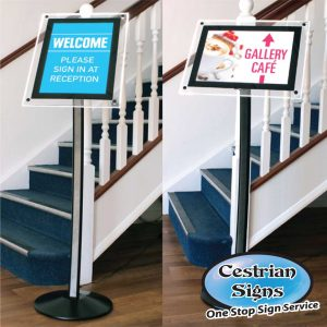 Illuminated LED Menu Stand Hi-Light