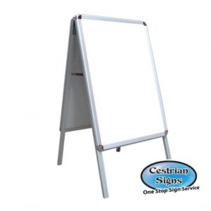 A-Master 20 x 30 inch A Board White frame