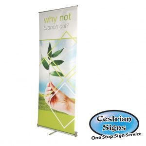 PACIFIC Lightweight Roller Banner Stand 1000 mm