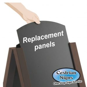 Chalk A-Board Sign Replacement Panels