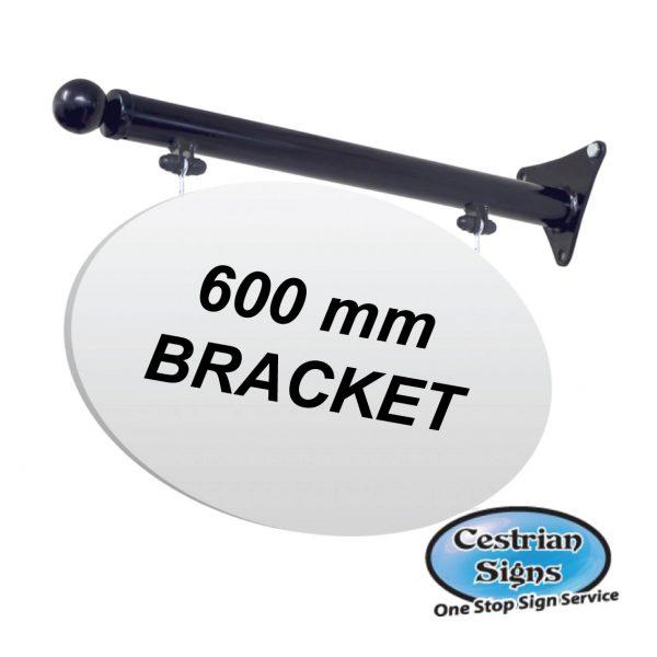 Hanging Projecting Shop Sign Bracket 1 600mm