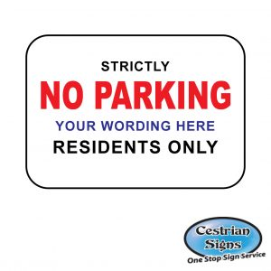 strictly-no-parking-residents-only-sign