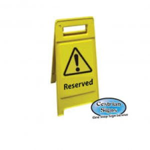 reserved-yellow-a-board-sign