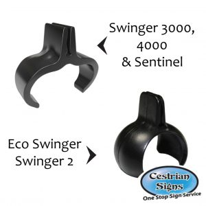 C-Clip Pair Spare Clips For Ecoswinger And Eco Swinger 2