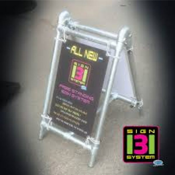 Heavy-Duty-Free-Standing-Pavement-Banner-A-Board-Sign-Small