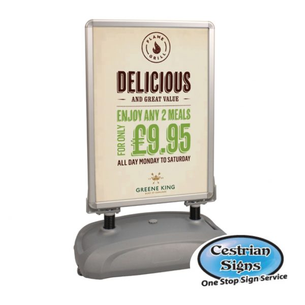 Sightmaster-3-A1-forecourt-sign-Silver-Grey