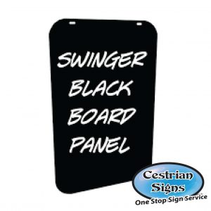Black Board Swinger Aluminium Panels