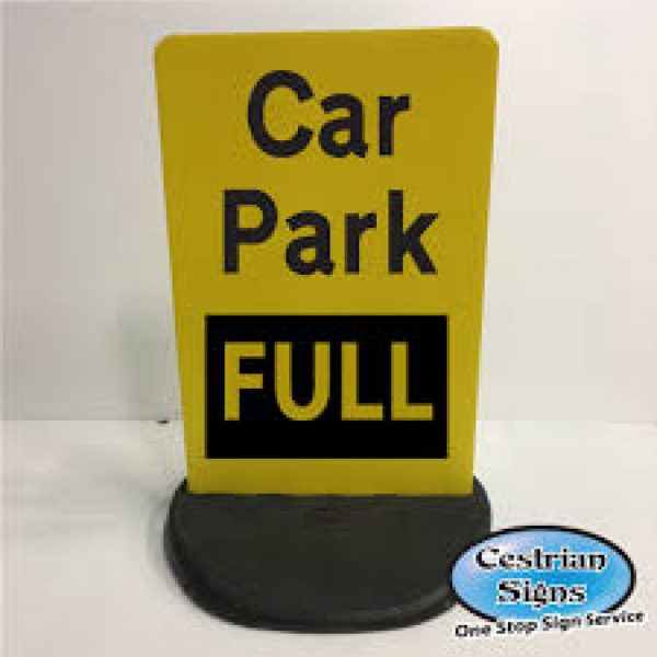 Car-Park-Full-Free-Standing-Sign