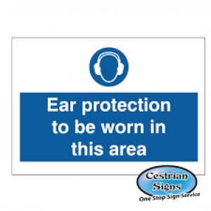 Ear-Protection-Must-Be-Worn-Signage