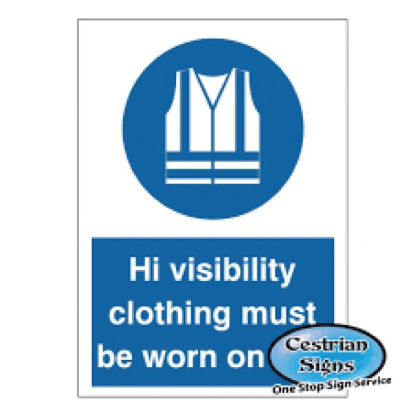 Hi-Visibility-Clothing-Must-Be-Worn-Sign