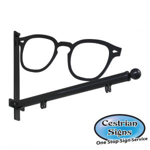 Opticians Hanging Sign Bracket