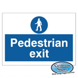 Pedestrian-Exit-Signs-900mm-X-600mm