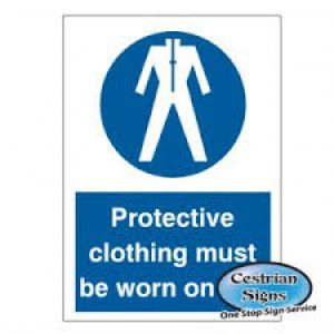 Protective-clothing-must-be-worn-on-site-sign