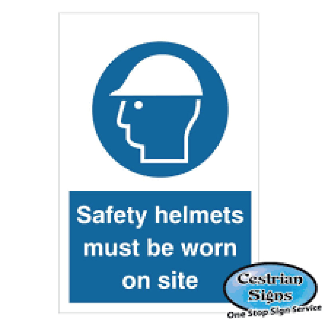 Safety Helmet Safety Signs