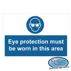 Eye-Protection-Must-Be-Worn-Signage