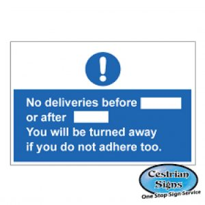 No-Deliveries-Before-Or-After-Signs