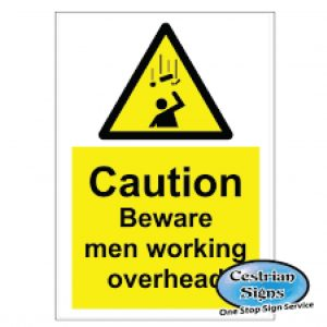 Caution-Beware-Men-Working-Overhead