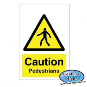 Caution-Pedestrians-Signs-400mm