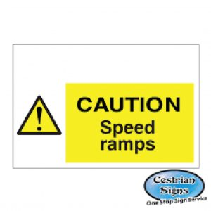 Caution-Speed-Ramps-Signs