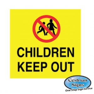 Children-Keep-Out-Signs