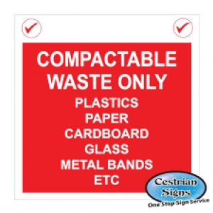Compactable-waste-construction-site-signs-1220mm-x-1220mm