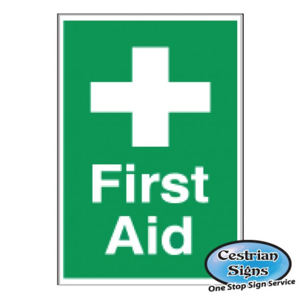 First aid signs 200mm x 300mm