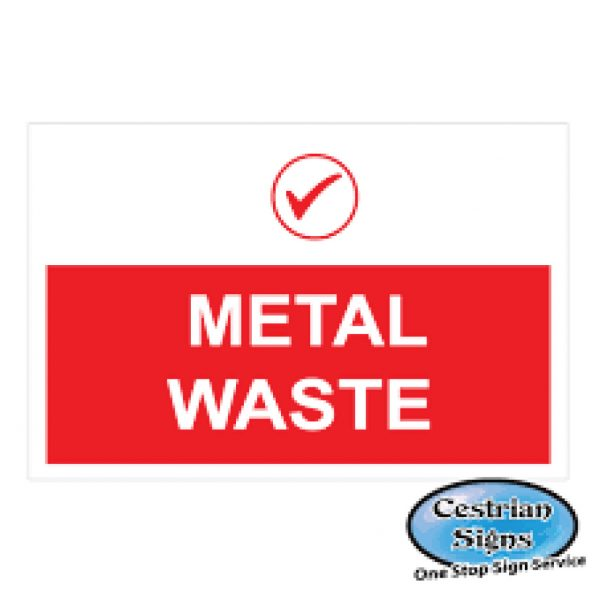 Metal-Waste-Construction-Site-Signs-1220mm-X-1220mm