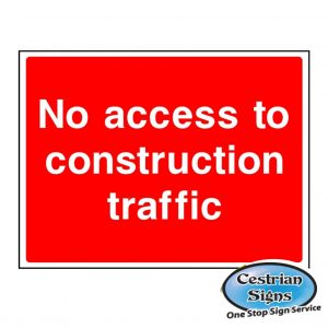 No-access-to-construction-traffic-signs