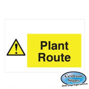 Plant-Route-Signs-600mm-X-400mm