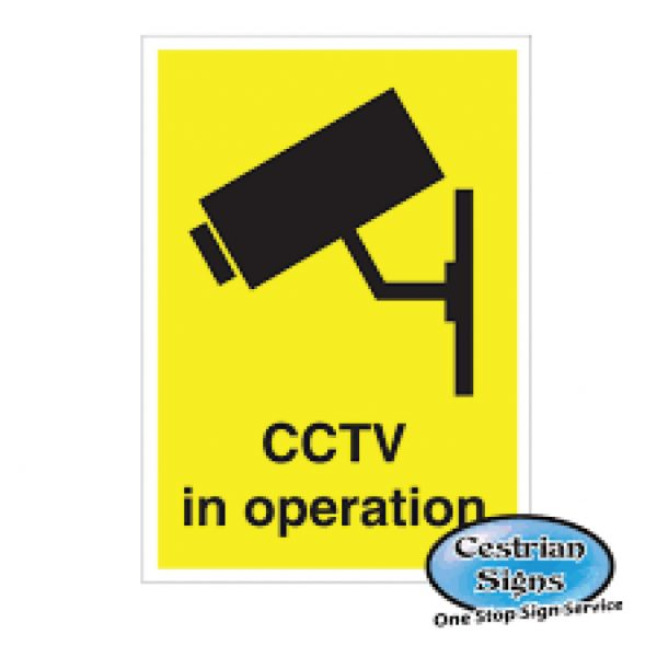 CCTV-In-Operation-Signs