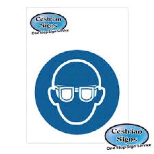Eye-Protection-Must-Be-Worn-Logo-Signs