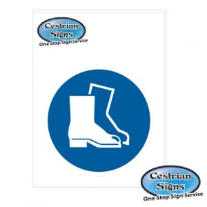 Safety-Footwear-Must-Be-Worn-Logo-sign