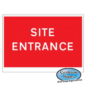 Site-entrance-signs-stanchion-600mm-x-450mm