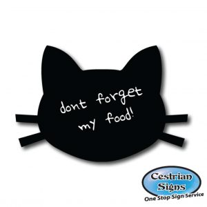 Cat Head shaped Blackboard 2