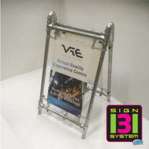 Heavy Duty Free Standing A Board Sign Medium