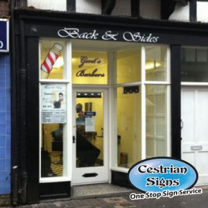 Barbers Shop Facia Signs