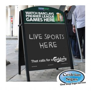 chalk-a-board-pavement-sign-steel-frame