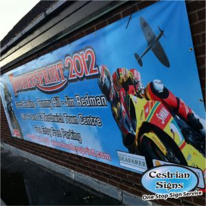outdoor printed pvc banner