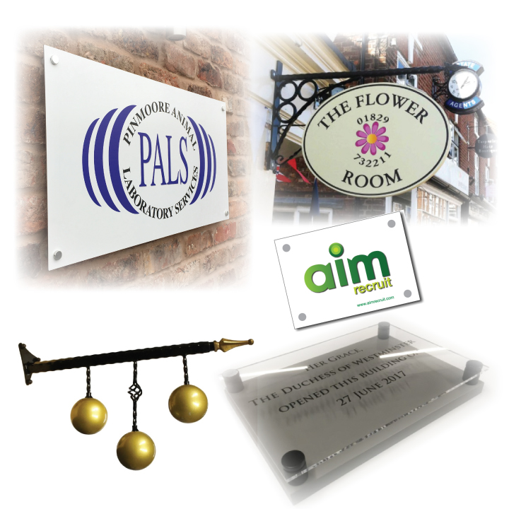 Shop, Factory and Office Signs