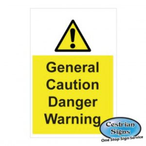 General Hazard Construction Site Safety Signs