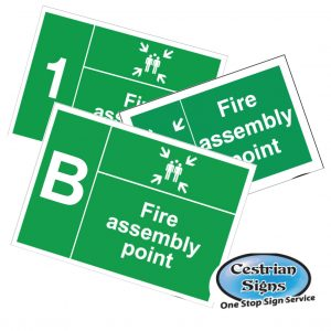 Fire Assembly Point Safety Signs